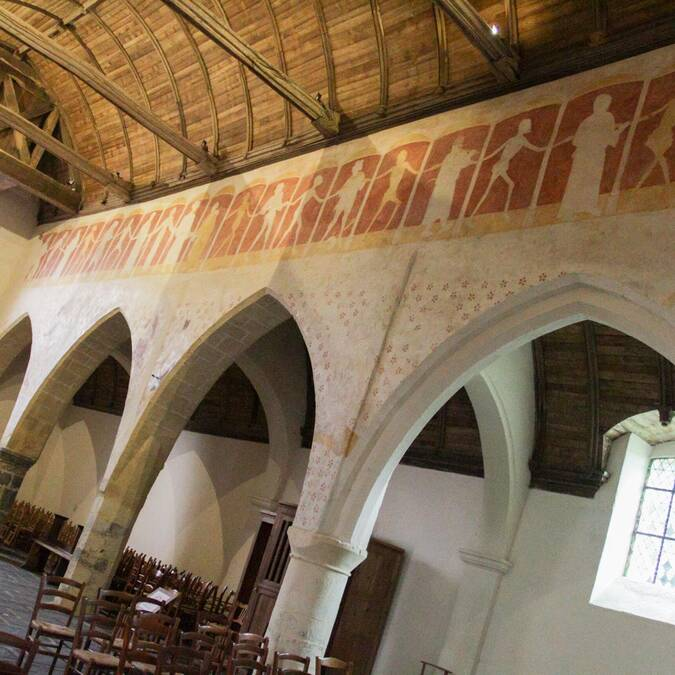 La danse macabre dans la Chapelle Kermaria An Iskuit - Plouha